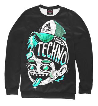 Одежда с принтом Techno