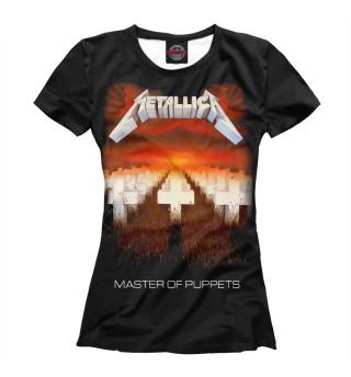 Футболка женская Metallica Master of Puppets