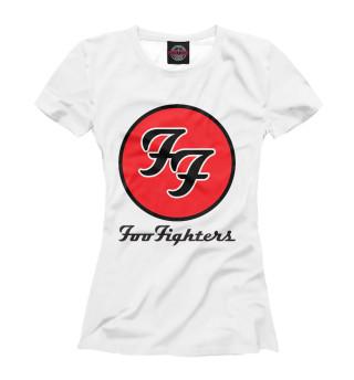 Футболка женская Foo Fighters (3366)