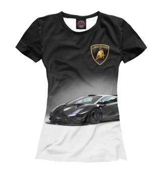 Футболка женская Lamborghini (7117)