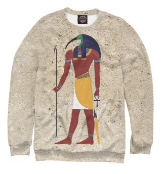 Одежда с принтом Бог Тот. Египет.
