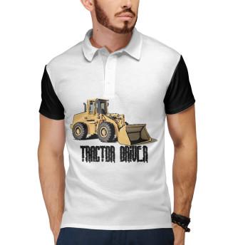 Поло мужское Tractor driver