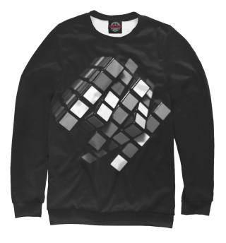 Одежда с принтом Кубик-рубик