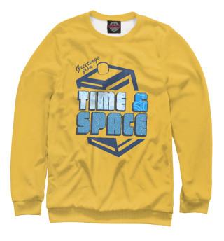 Одежда с принтом Time & Space