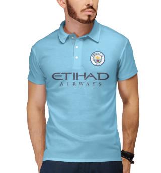 Поло мужское Манчестер Сити