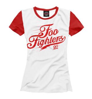 Футболка женская Foo Fighters