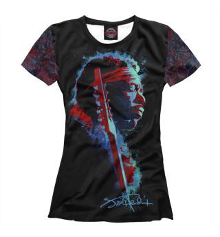 Футболка женская Jimi Hendrix (8214)