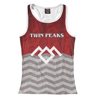 Майка борцовка женская Twin Peaks (4437)