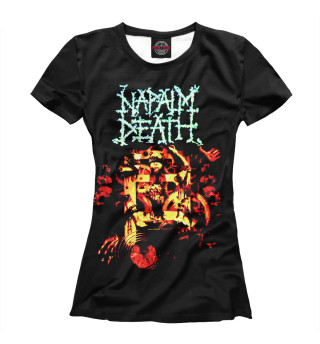 Футболка женская Napalm Death (7755)