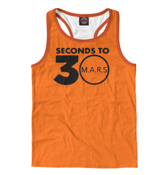 Майка борцовка мужская 30 Seconds to Mars (6690)
