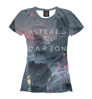 Футболка женская Altered Carbon