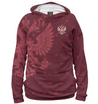 Худи женское Герб России (8228)