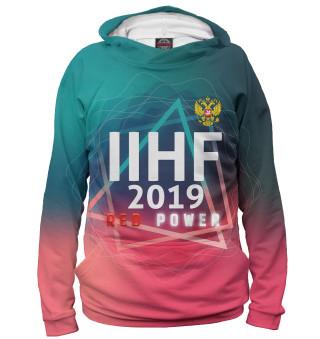 Худи женское Чемпионат мира по хоккею 2019 (101)