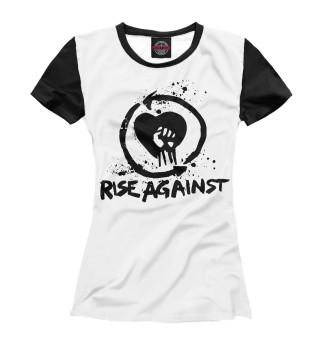 Футболка женская Rise Against