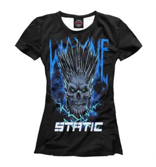 Футболка женская Static-X (3900)