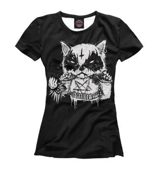 Футболка женская Dark Cat