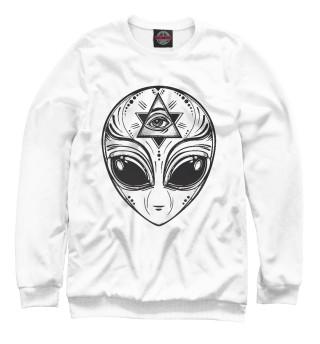 Одежда с принтом НЛО