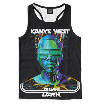 Майка борцовка мужская Kanye West (6718)