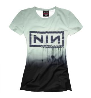 Футболка женская Nine Inch Nails