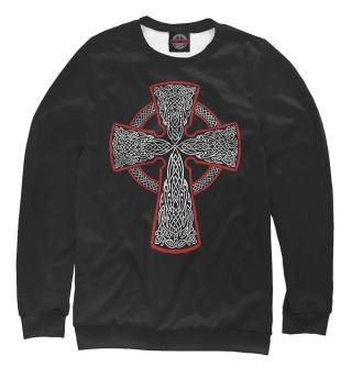 Одежда с принтом Кельтский крест