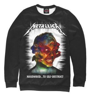 Одежда с принтом Metallica Hardwired...To Self-Destruct