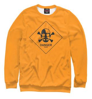 Одежда с принтом Danger toxic