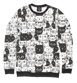 Одежда с принтом Миллион котов