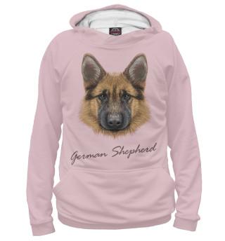 Худи женское German Shepherd
