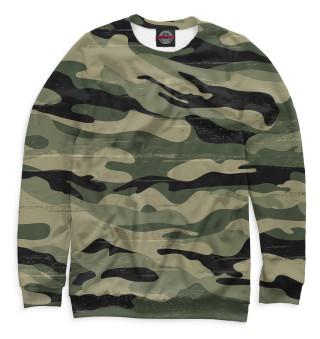 Одежда с принтом Camouflage Green