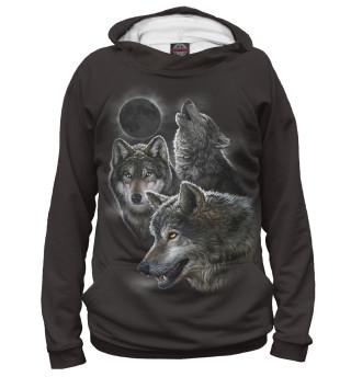 Худи женское Волки (3073)