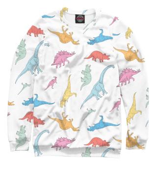 Одежда с принтом Динозавры