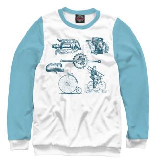 Свитшот для мальчиков Retro Bike (396)