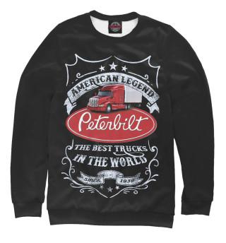 Одежда с принтом PETERBILT - Американская легенда