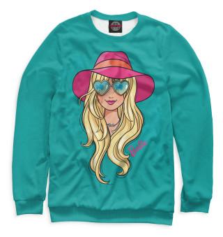 Одежда с принтом Barbie в шляпе