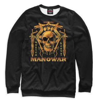 Одежда с принтом Manowar (588640)
