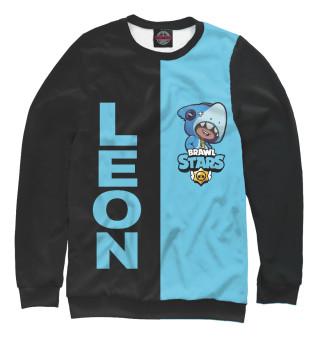 Одежда с принтом Brawl Stars LEON SHARK (657768)