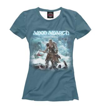 Футболка женская Amon Amarth (5555)