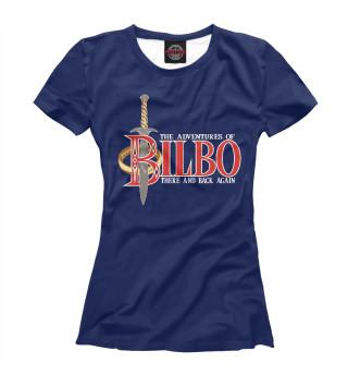 Футболка женская Приключения Бильбо