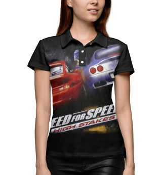 Поло женское Need For Speed 4: High Stakes
