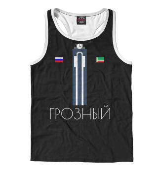 Майка борцовка мужская Грозный (2115)