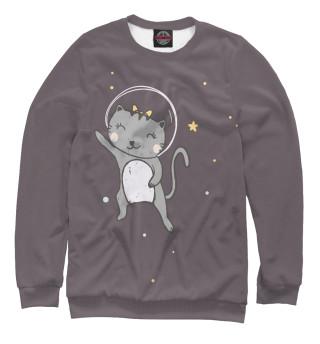 Одежда с принтом Kосмические котики