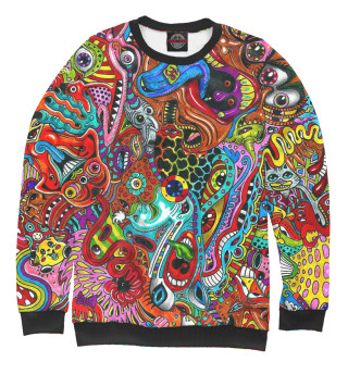Одежда с принтом Psychedelic (635346)
