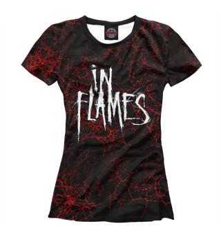 Футболка женская In Flames (808)