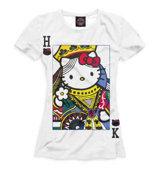 Футболка женская Hello Kitty (1636)