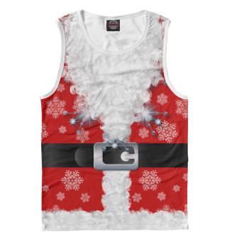 Майка мужская Дед мороз (7578)
