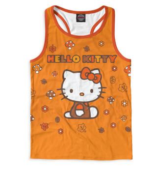 Майка борцовка мужская Hello Kitty (5648)