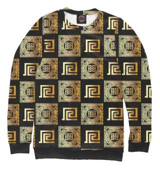 Одежда с принтом Versace gold (524224)