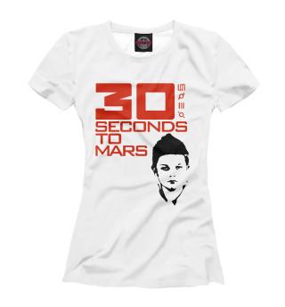 Футболка женская 30 Seconds to Mars (590)