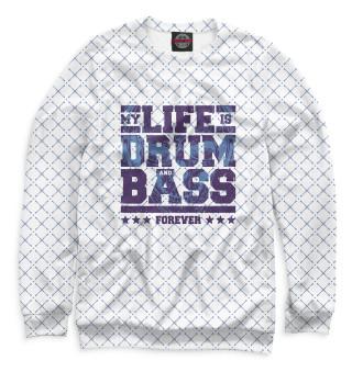 Одежда с принтом Drum and Bass (811516)