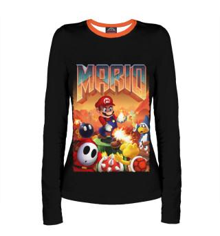 Лонгслив  женский Mario Doom
